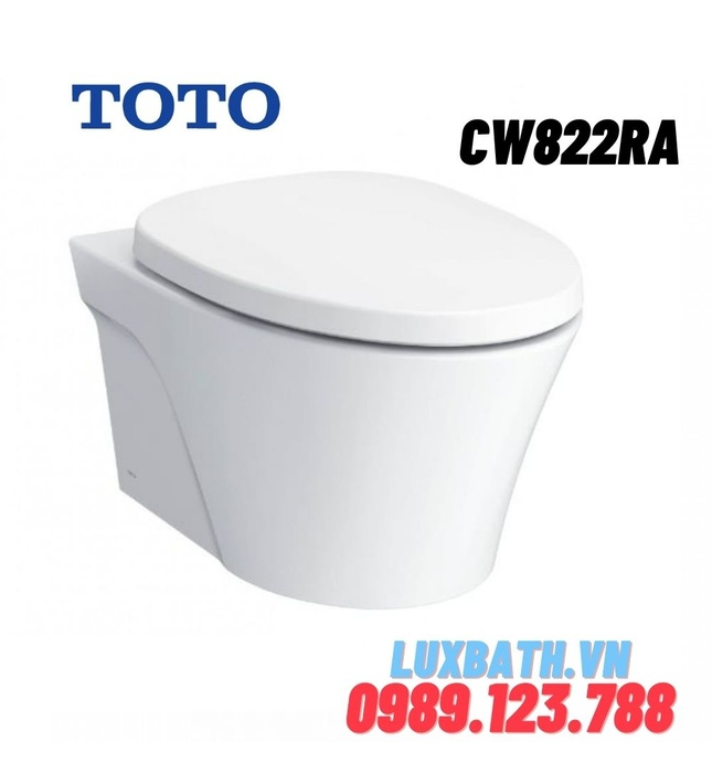Bồn Cầu két nước âm tường TOTO CW822RA/TC385VS