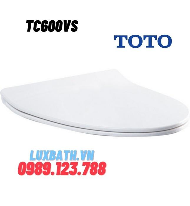 Nắp Êm Bồn Cầu TOTO TC600VS (T8)