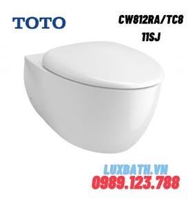 Bồn cầu treo tường TOTO CW812RA/TC811SJ