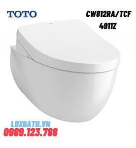 Bồn cầu treo tường nắp điện tử TOTO CW812RA/TCF4911Z