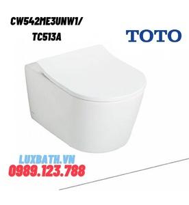 Bồn Cầu TOTO CW542ME3UNW1/TC513A Treo Tường