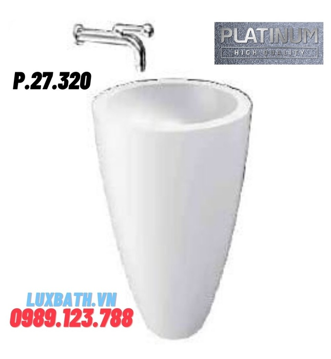 Chậu rửa đặt sàn Platinum P.27.320