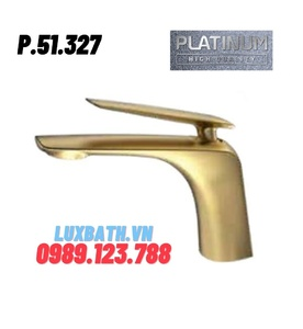 Vòi Lavabo Nóng Lạnh Platinum P.51.327