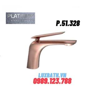 Vòi Lavabo Nóng Lạnh 1 lỗ thấp Platinum P.51.328