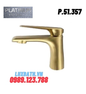 Vòi Lavabo Nóng Lạnh Platinum P.51.357