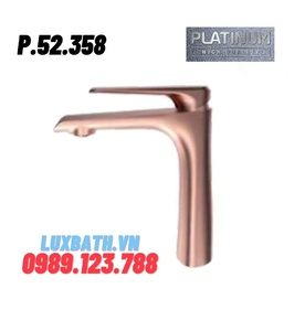 Vòi Lavabo Nóng Lạnh Platinum P.52.358