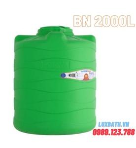 Bồn nước Tân Á 2000l đứng nhựa HDPE Plasman BN 2000L D