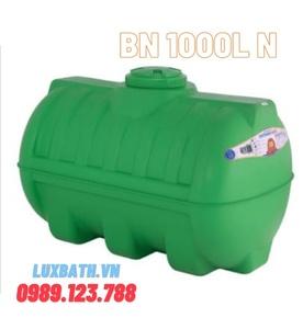 Bồn nước Tân Á Plasman 1000l ngang nhựa BN 1000L N