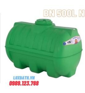 Bồn nước nhựa Tân Á Plasman ngang 500 lít BN 500L N