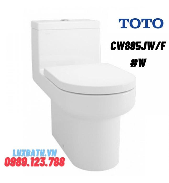 Bồn Cầu TOTO CW895JW/F#W Một Khối