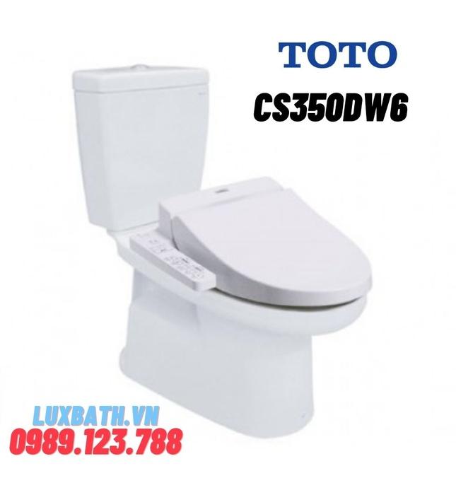 Bồn Cầu Điện Tử TOTO CS350DW6 Nắp Rửa Washlet
