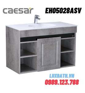 Tủ chậu lavabo Treo Tường Caesar EH05028ASV màu xám