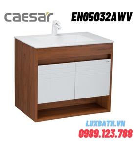 Tủ chậu lavabo Treo Tường Caesar EH05032AWV màu nâu