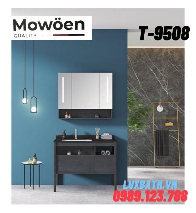 Bộ tủ chậu Lavabo cao cấp Mowoen T-9508