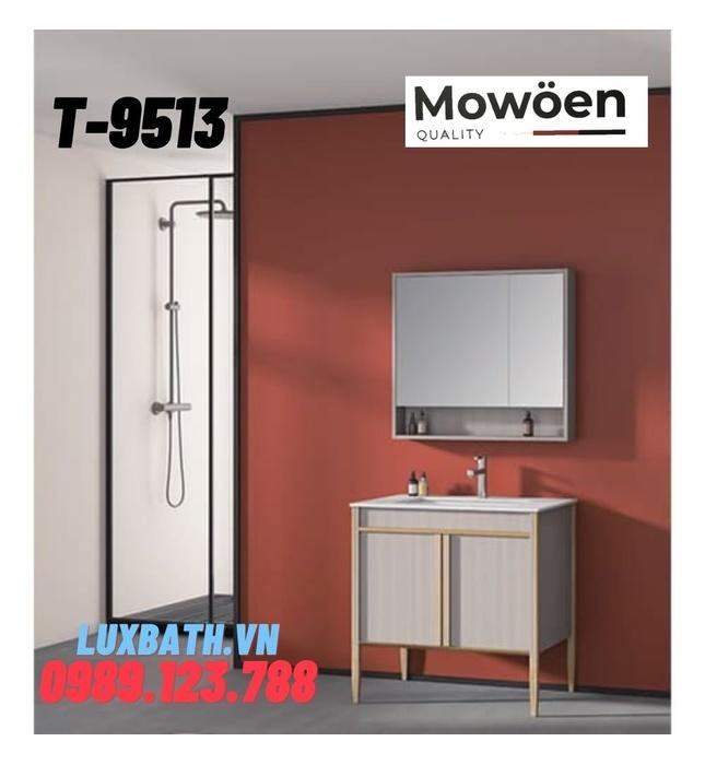 Bộ tủ chậu Lavabo cao cấp Mowoen T-9513