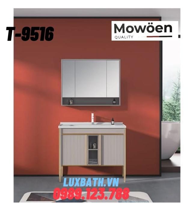 Bộ tủ chậu Lavabo cao cấp Mowoen T-9516