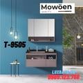 Bộ tủ chậu Lavabo cao cấp Mowoen T-9505