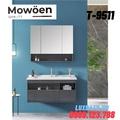 Bộ tủ chậu Lavabo cao cấp Mowoen T-9511