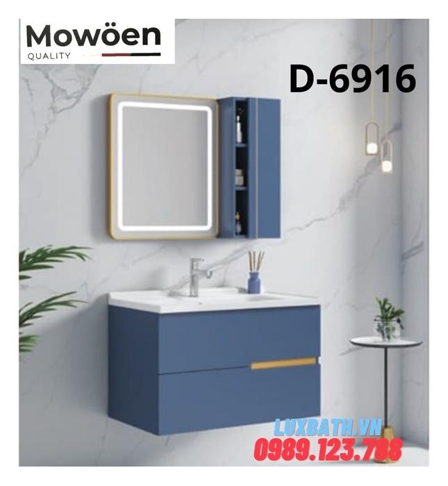 Bộ tủ chậu Lavabo cao cấp Mowoen D-6916