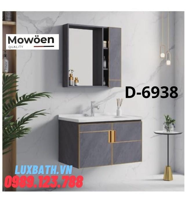 Bộ tủ chậu Lavabo cao cấp Mowoen D-6938