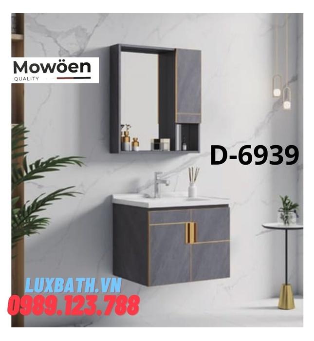 Bộ tủ chậu Lavabo cao cấp Mowoen D-6939