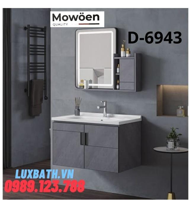 Bộ tủ chậu Lavabo cao cấp Mowoen D-6943