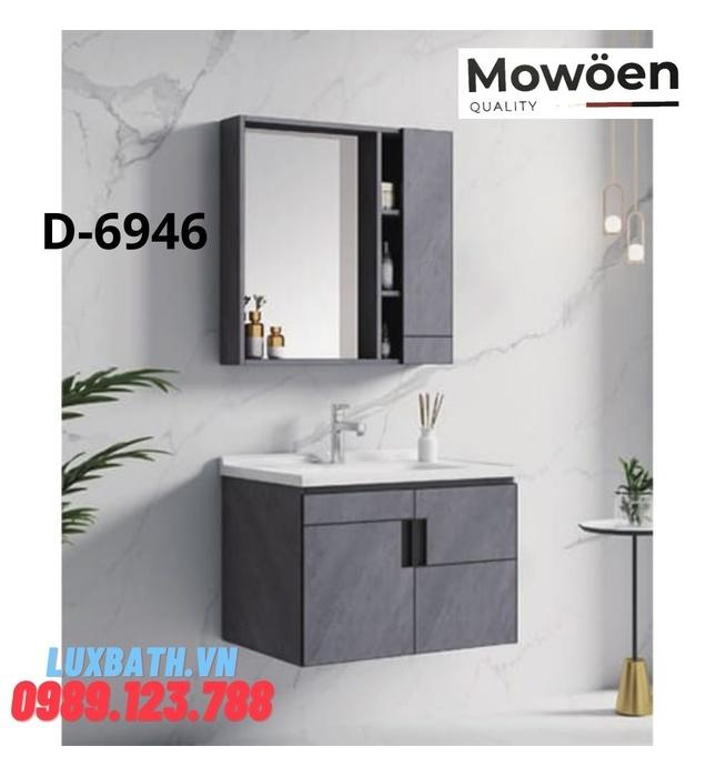 Bộ tủ chậu Lavabo cao cấp Mowoen D-6946