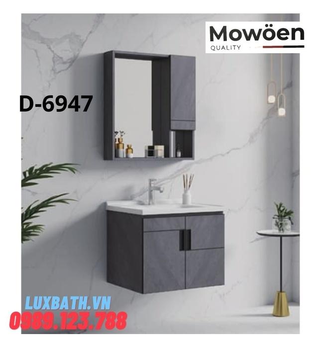 Bộ tủ chậu Lavabo cao cấp Mowoen D-6947