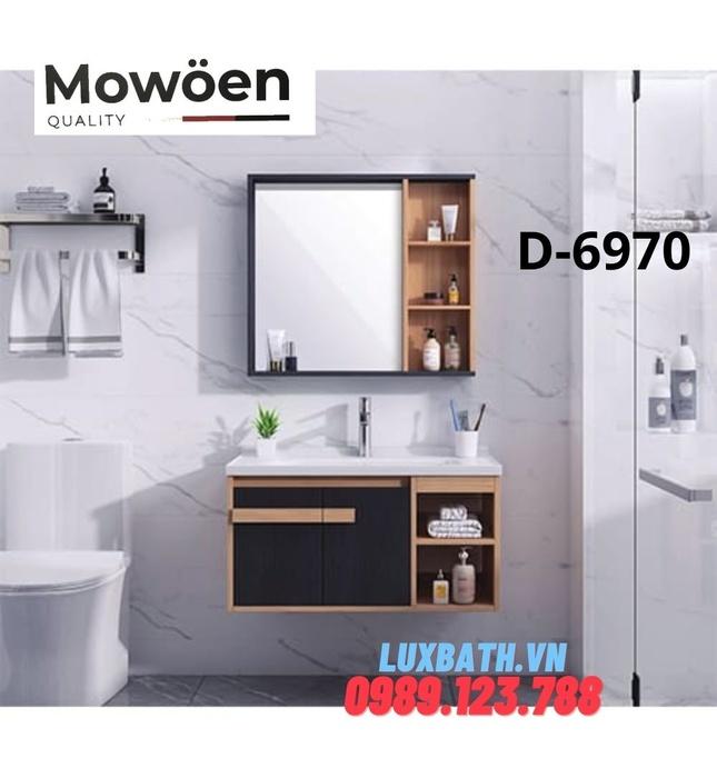 Bộ tủ chậu Lavabo cao cấp Mowoen D-6970