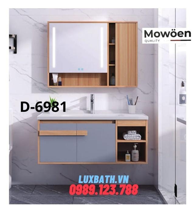 Bộ tủ chậu Lavabo cao cấp Mowoen D-6981