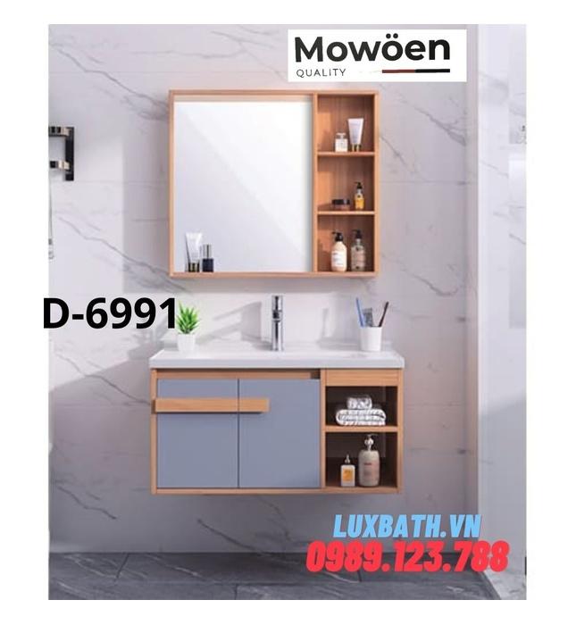 Bộ tủ chậu Lavabo cao cấp Mowoen D-6991