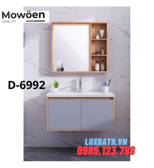 Bộ tủ chậu Lavabo cao cấp Mowoen D-6992