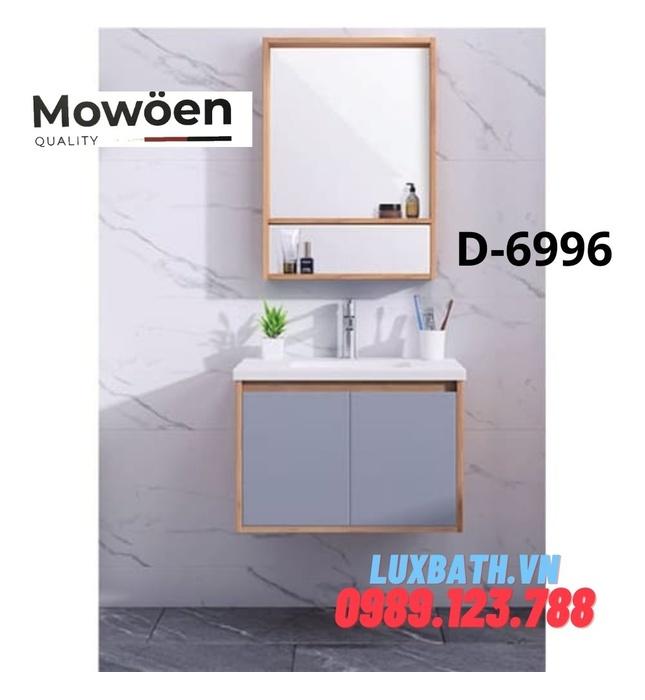 Bộ tủ chậu Lavabo cao cấp Mowoen D-6996