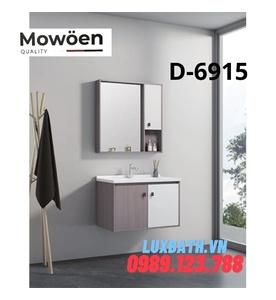 Bộ tủ chậu gương 2 ngăn Mowoen D-6915