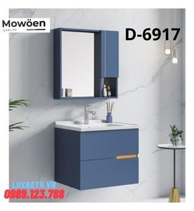 Bộ tủ chậu 2 ngăn kín Mowoen D-6917