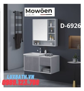 Bộ tủ chậu Lavabo cao cấp Mowoen D-6926