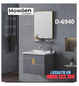 Bộ tủ chậu Lavabo cao cấp Mowoen D-6940