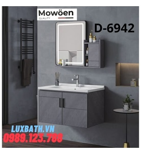 Bộ tủ chậu Lavabo cao cấp Mowoen D-6942