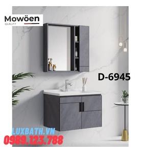 Bộ tủ chậu Lavabo cao cấp Mowoen D-6945