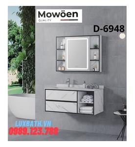 Tủ Lavabo mặt đá 4 ngăn Mowoen D-6948