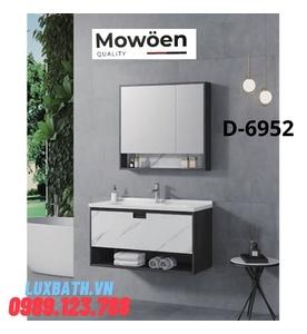 Bộ tủ chậu Lavabo cao cấp Mowoen D-6952