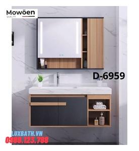 Bộ tủ chậu Lavabo cao cấp Mowoen D-6995