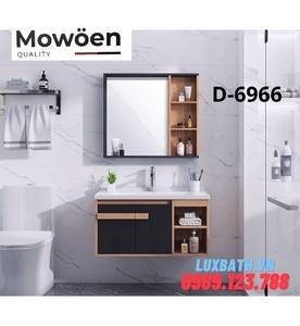 Bộ tủ chậu Lavabo 3 ngăn cao cấp Mowoen D-6966