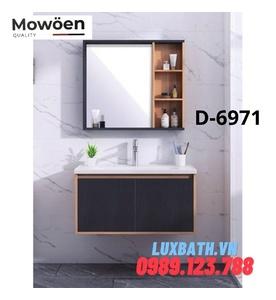 Bộ tủ chậu Lavabo cao cấp Mowoen D-6971