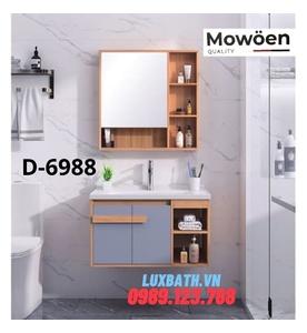 Bộ tủ chậu Lavabo cao cấp Mowoen D-6988