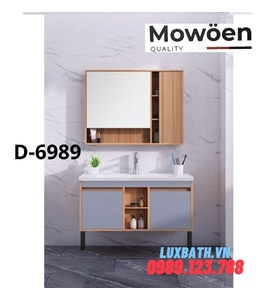 Bộ tủ chậu Lavabo cao cấp Mowoen D-6989
