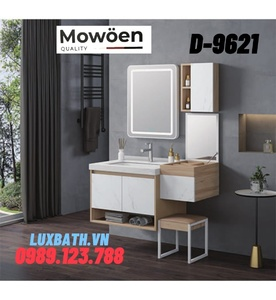 Bộ tủ chậu Lavabo cao cấp Mowoen T-9500