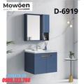 Bộ tủ chậu Lavabo cao cấp Mowoen D-6919