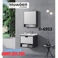 Bộ tủ chậu Lavabo cao cấp Mowoen D-6953
