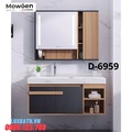 Bộ tủ chậu Lavabo 4 ngăn Mowoen D-6959